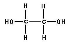 乙二醇|107-21-1结构式图片