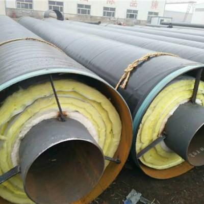 钢套钢内滑动岩棉保温钢管厂家