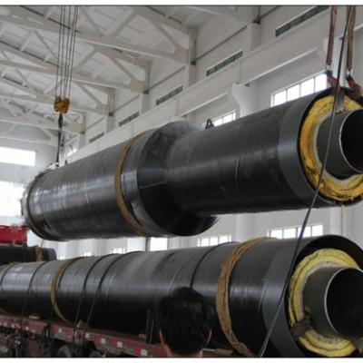 大口径钢套钢岩棉保温钢管厂家-耐高温岩棉保温管道厂家