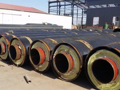 埋地输送蒸汽钢套钢岩棉保温钢管厂家