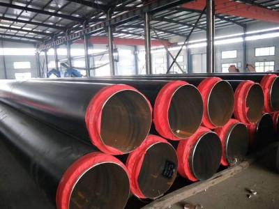 地埋供暖输送热力聚氨酯保温钢管厂家