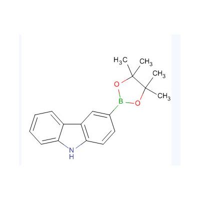 咔唑-3-硼酸频呐醇酯 CAS:855738-89-5