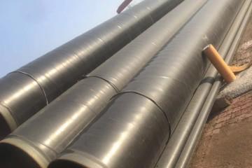 燃气输送预制直埋3pe防腐钢管DN400厂家