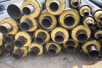 钢套钢输送蒸汽岩棉保温管道生产厂家