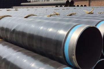 直埋预制天然气输送3pe防腐钢管厂家