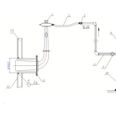 SCR脱硝改造声波吹灰器旋笛式吹灰器