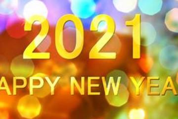 元旦快乐!HAPPY NEW YEAR 2021.